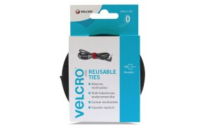 VELCRO ONE-WRAP REUSABLE TIES 10mm x 5m